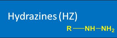 Hydrazides (HZ)