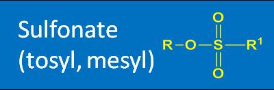 Sulfonate (tosyl, mesyl)
